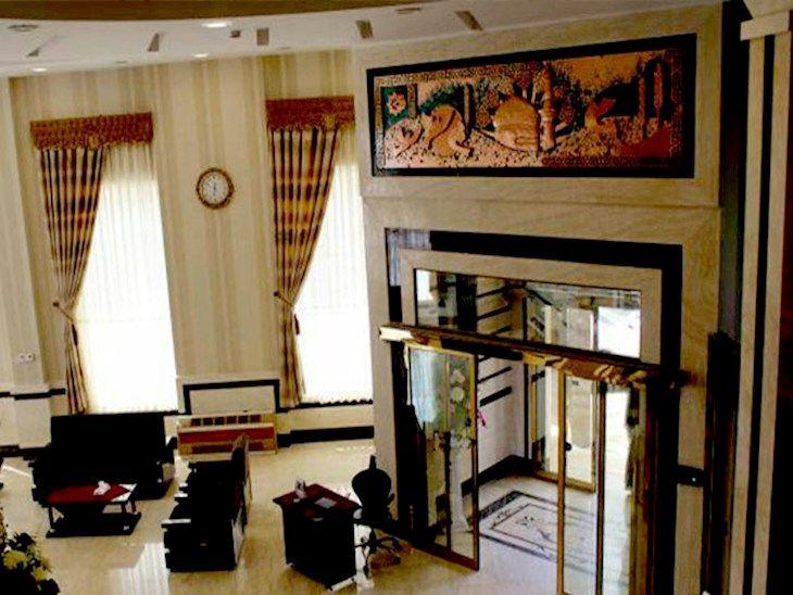 رزرو هتل فاخر مشهد