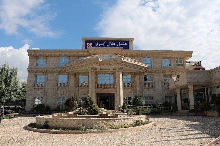 رزرو هتل مجتمع هلال احمر تهران