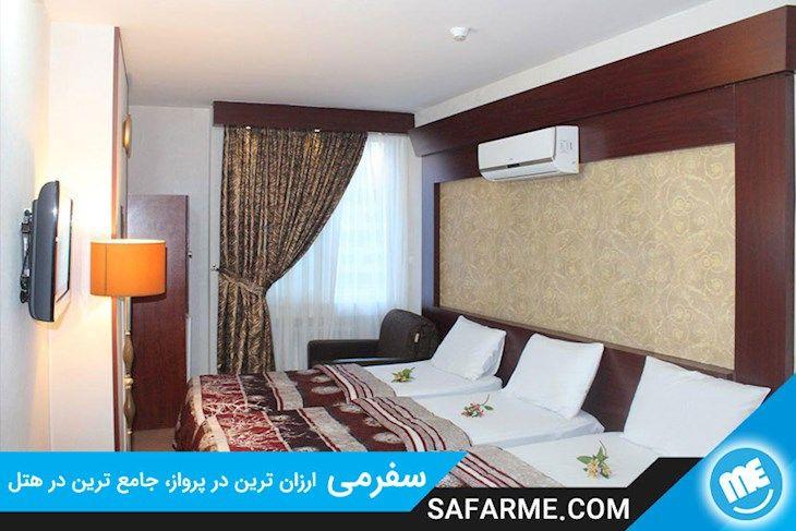 رزرو هتل هفت آسمان مشهد