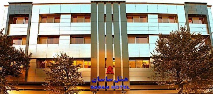 رزرو هتل ساسان شیراز