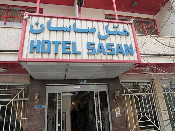 رزرو هتل ساسان تهران
