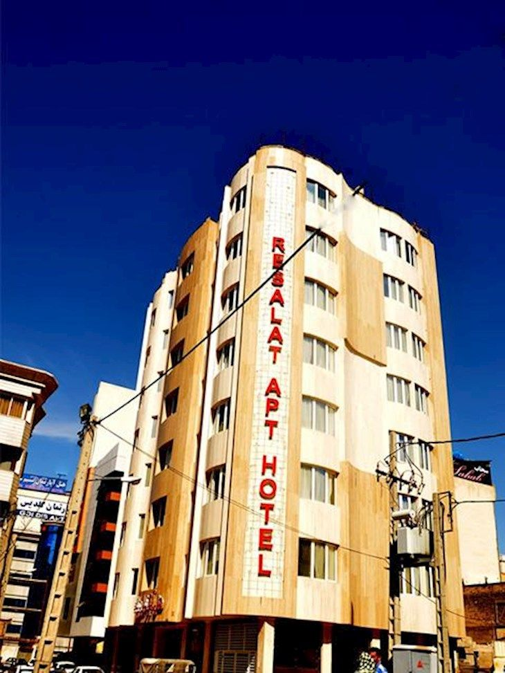 رزرو هتل رسالت مشهد