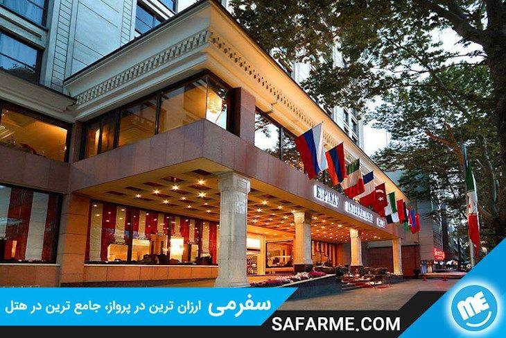 رزرو هتل اسپیناس تهران