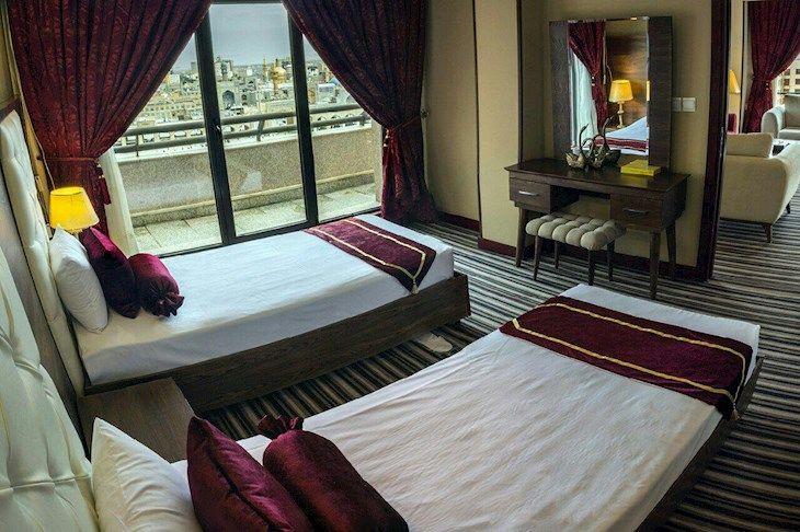 رزرو هتل امید مشهد