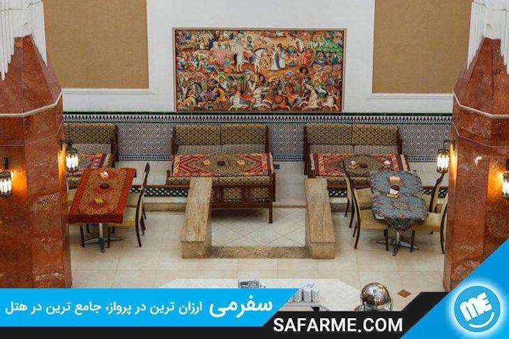 رزرو هتل پارسیان صفاییه جدید یزد